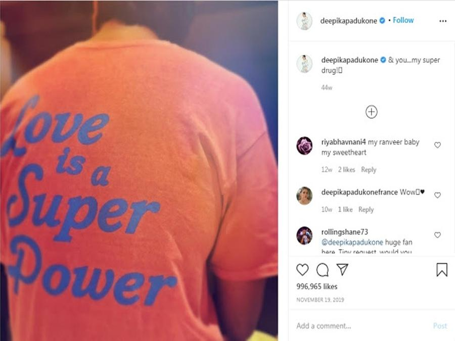 SSR CASE: दीपिका का पुराना पोस्ट हो रहा वायरल, पति रणवीर को कहा था- 'आप मेरे सुपर ड्रग'