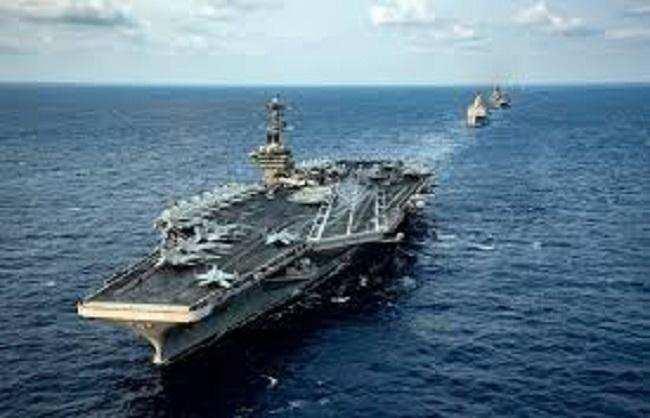 चीन ने ताइवान को डराया तो अमेरिका ने दक्षिण चीन सागर में भेजे विमानवाहक युद्धपोत