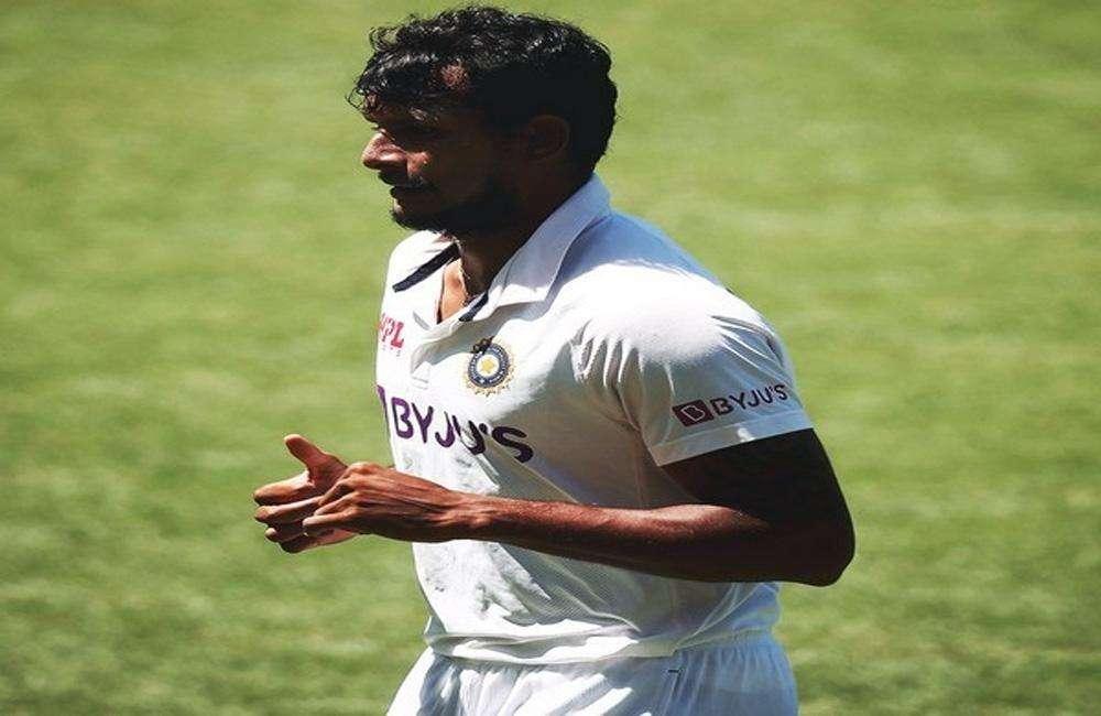 पदार्पण टेस्ट मैच में विकेट लेने वाले भारत के दूसरे सबसे सफल बाएं हाथ के तेज गेंदबाज बने नटराजन