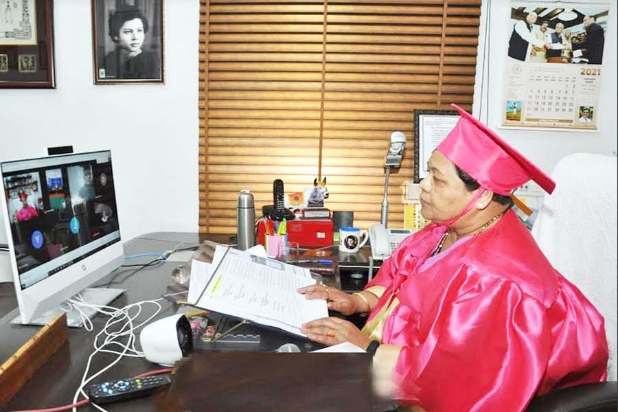 कठिनाइयों से कभी न घबराएं, पूरे हौसले से कार्य कर सफलता अर्जित करें: राज्यपाल उइके