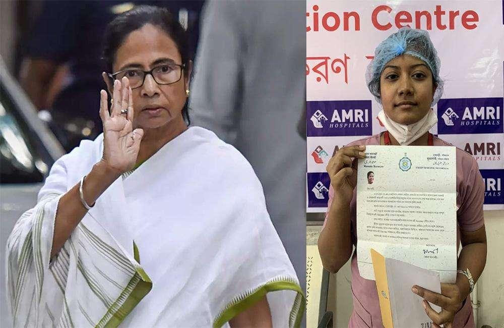 डॉक्टरों को चिट्ठी लिखकर ममता ने फिर किया फ्री वैक्सीन देने का दावा, चढ़ सकता है सियासी पारा