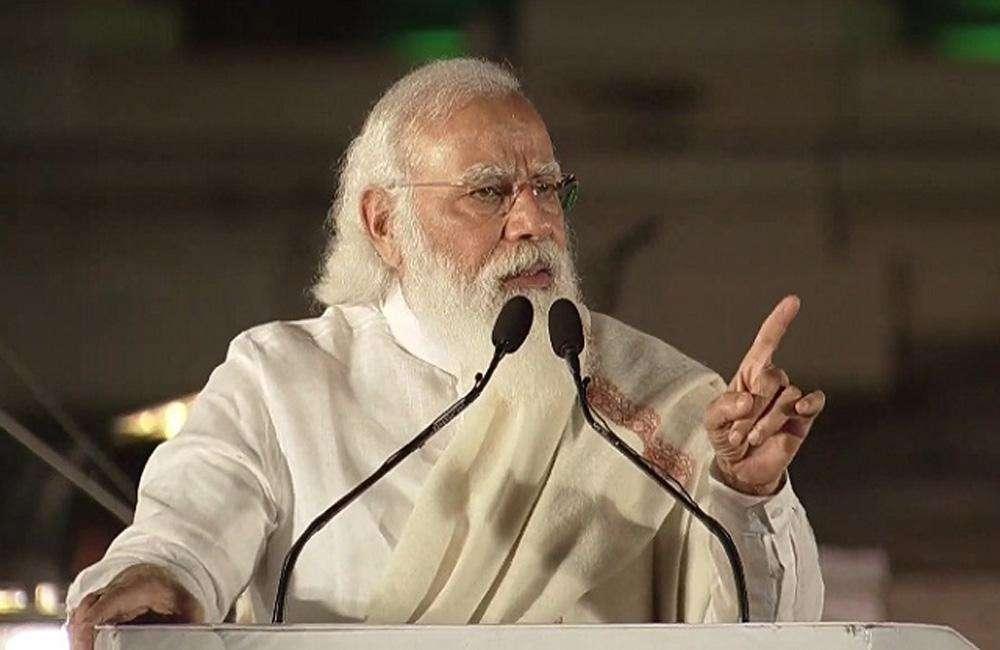 प्रधानमंत्री मोदी ने इशारे-इशारे में पाकिस्तान से लेकर चीन तक भारत की मजबूती का किया जिक्र